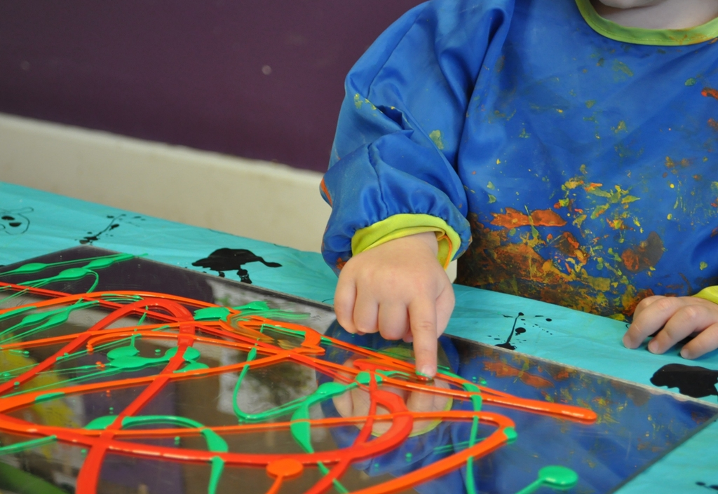 eyfs activities expressive arts creative activity children early years painting planning play messy creativity mirror careers moment toddler paint process
