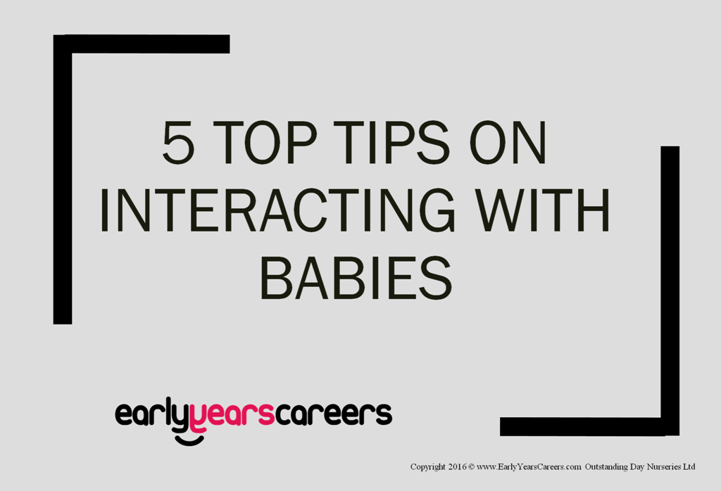 front cover for interacting with babies