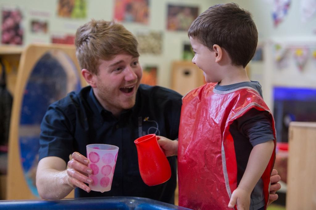 Andrew from Tunbridge Wells Nursery and Montessori Pre-Schoo