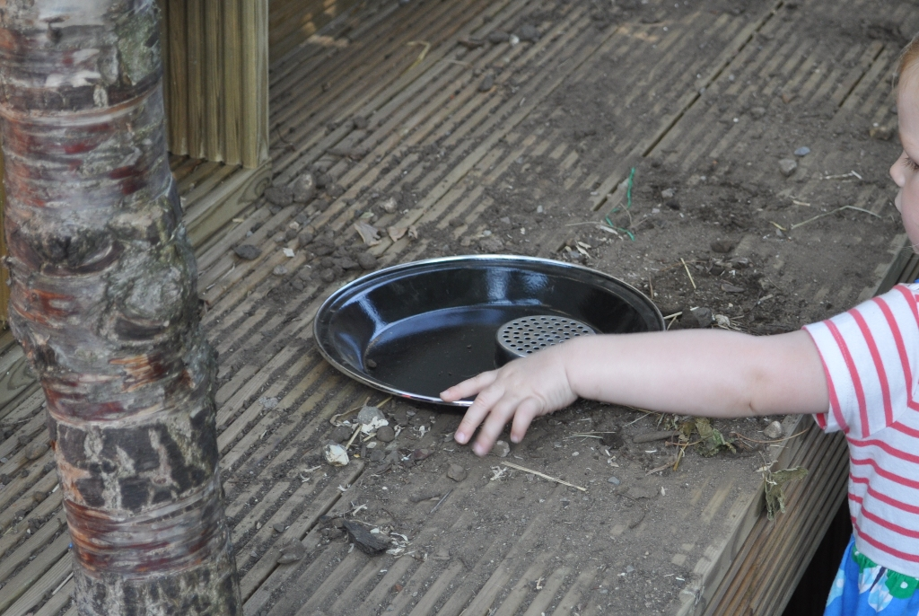 offering mud play outdoors
