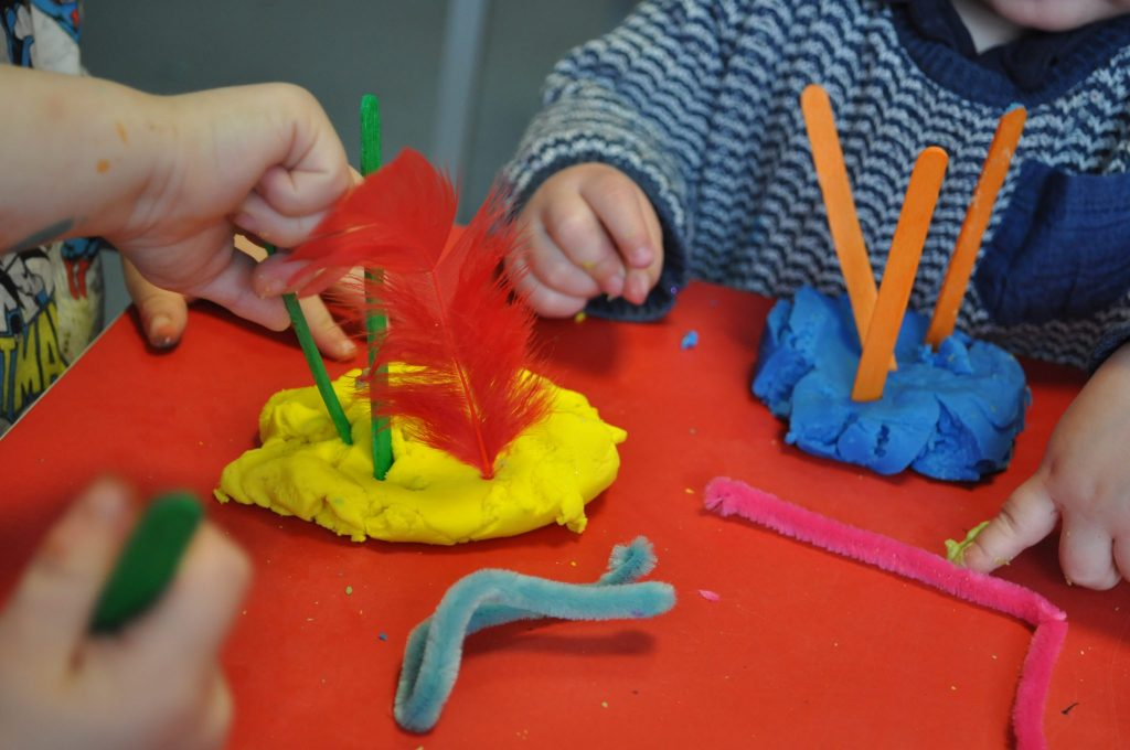 Why playing with playdough can benefit children's development