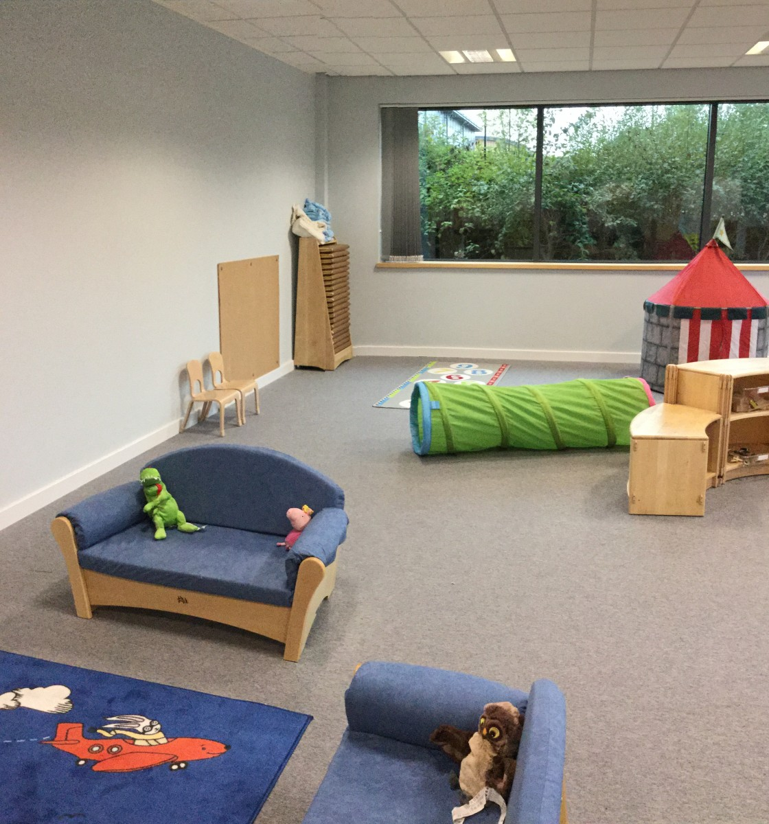 A large open Early Years environment