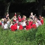 England's largest outdoor learning project reveals children more motivated to learn when outside