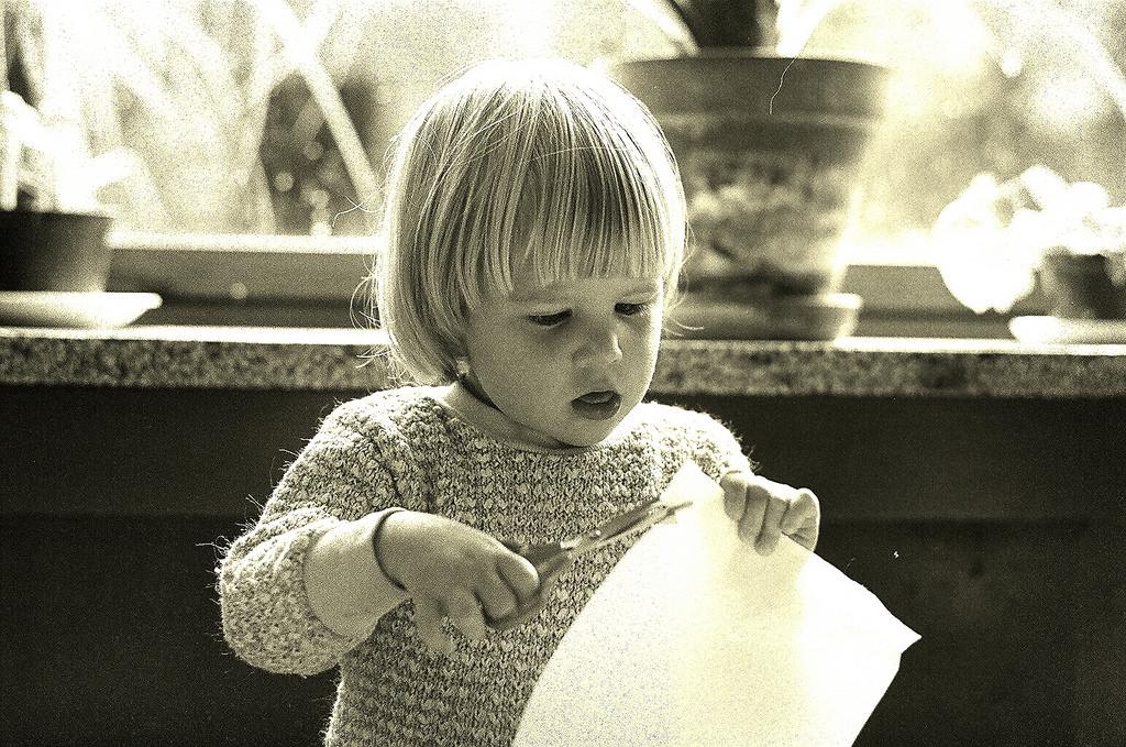 are scissors too dangerous for children?