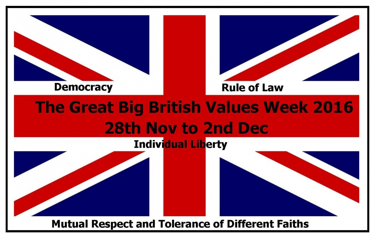 The Great Big British Values Week 2016