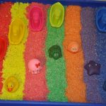 Coloured Rice Play