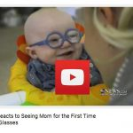 Baby Reacts to Seeing Mom for the First Time Using Glasses