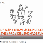 Complaint submitted by Campaign group Champagne Nurseries, lemonade Funding