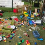 Nursery trashed by Travellers